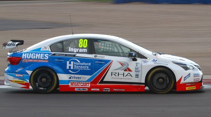 Easthill Computers Selby are official sponsors of Tom Ingram - BTCC 2015